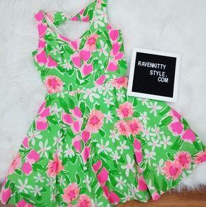 Lilly Pulitzer Pink Tulip Full Skirt Midi Dress 2